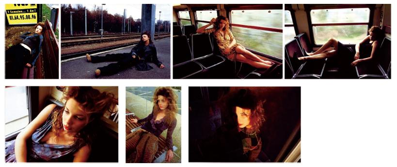 Nippon CAMERA<br>En train de Paris<br>パリから列車で