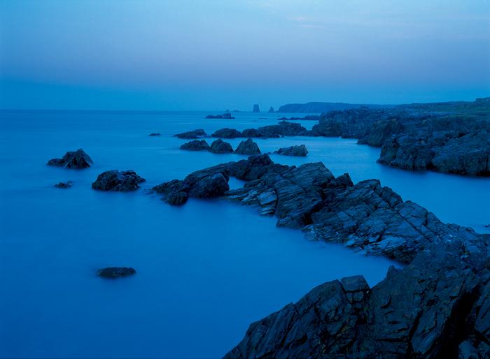 カナダの発見者ジョン・カボットは、まずこの岬にたどり着き、遠く続く大地に夢をはせた(NF)