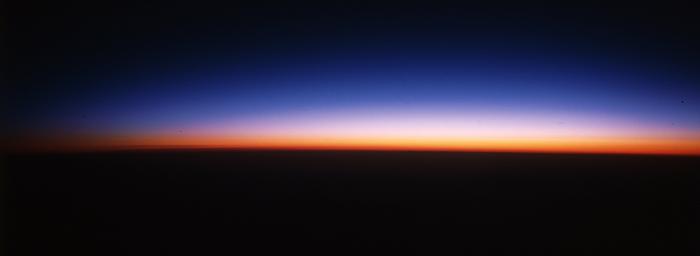 アムステルダム〜成田上空