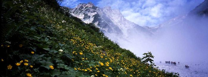 白馬大雪渓(白馬岳)