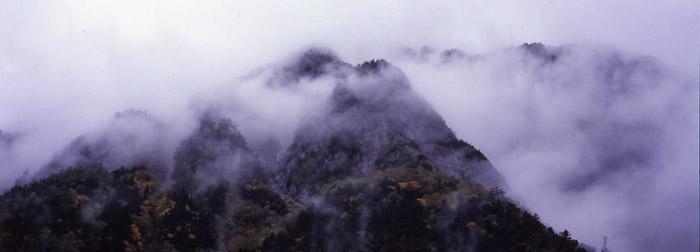 時雨(上高地・横尾)