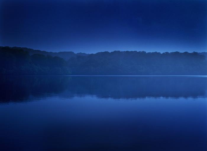 「静寂」 栄村  野々海池