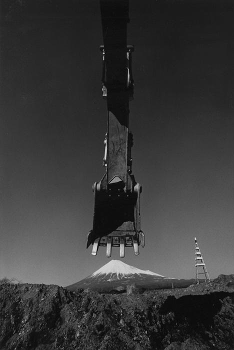 建設現場 静岡県富士市石坂 1972年