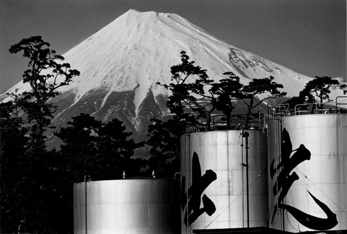 石油備蓄基地 静岡県富士市浜町 1971年