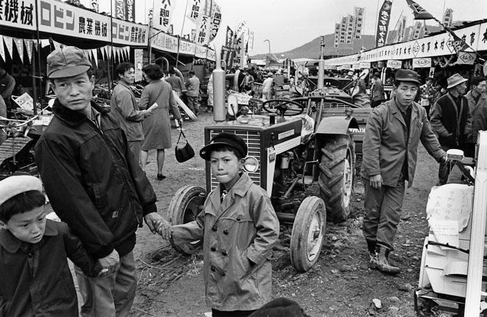 農業機械の展示会<br>秋田県大曲市 1968年
