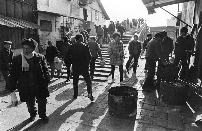 春節の賑わい 1995年1月