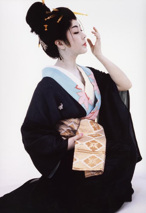 「浮世絵くずし」より<br>おつくり Machiko Kyou