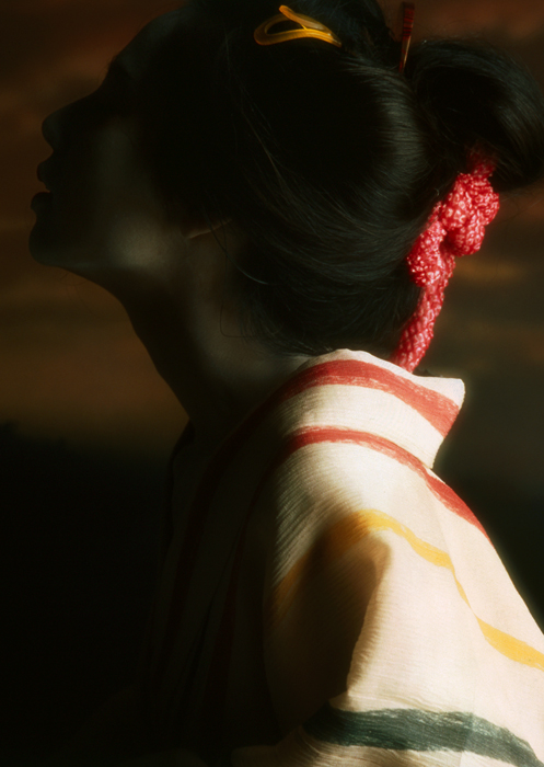 「浮世絵くずし」より<br>遊女顕晦 Aiko Morishita