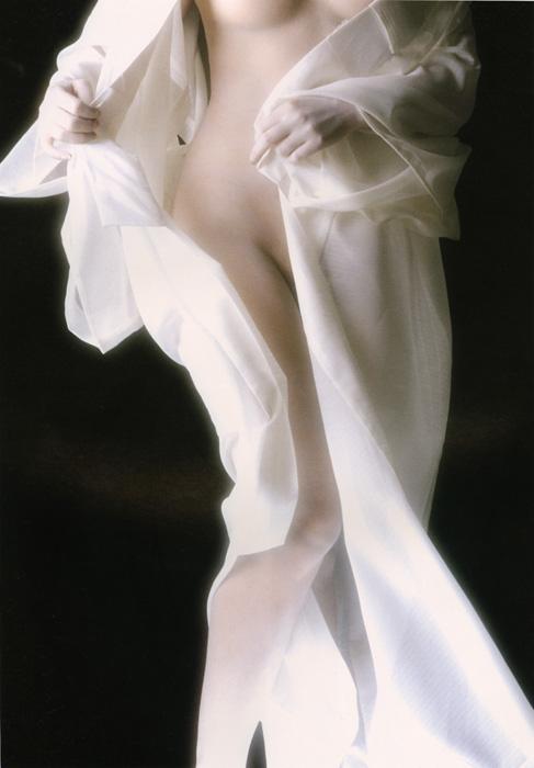 「浮世絵くずし」より<br>白絹 Yukari Taguchi
