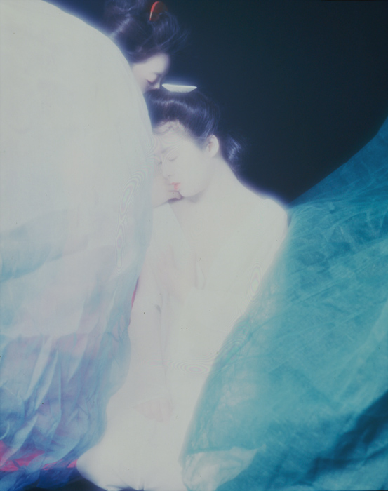 「浮世絵くずし」より 蚊帳<br>Rena Akimoto, Shinobu Ohkawa