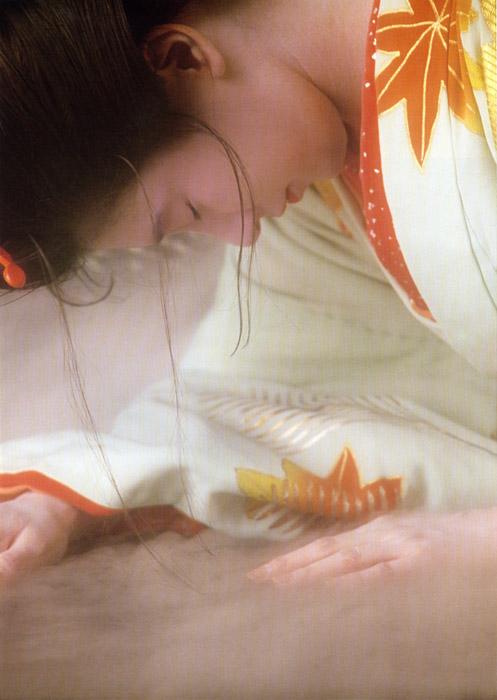 「浮世絵くずし」より<br>悲恋お夏 Yuki Yoshida
